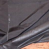 Ткань Черный болоний для пошива сумок, рюкзаков Ш 92см