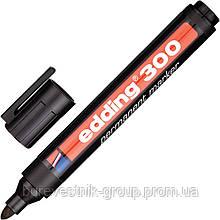 """Маркер перманентный, заправляемый Edding """" E-300 """" черный"""