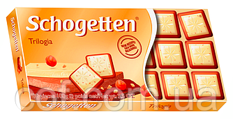 Шоколад Schogetten Trilogia (Шогеттен Трилогия) 100г (Германия)