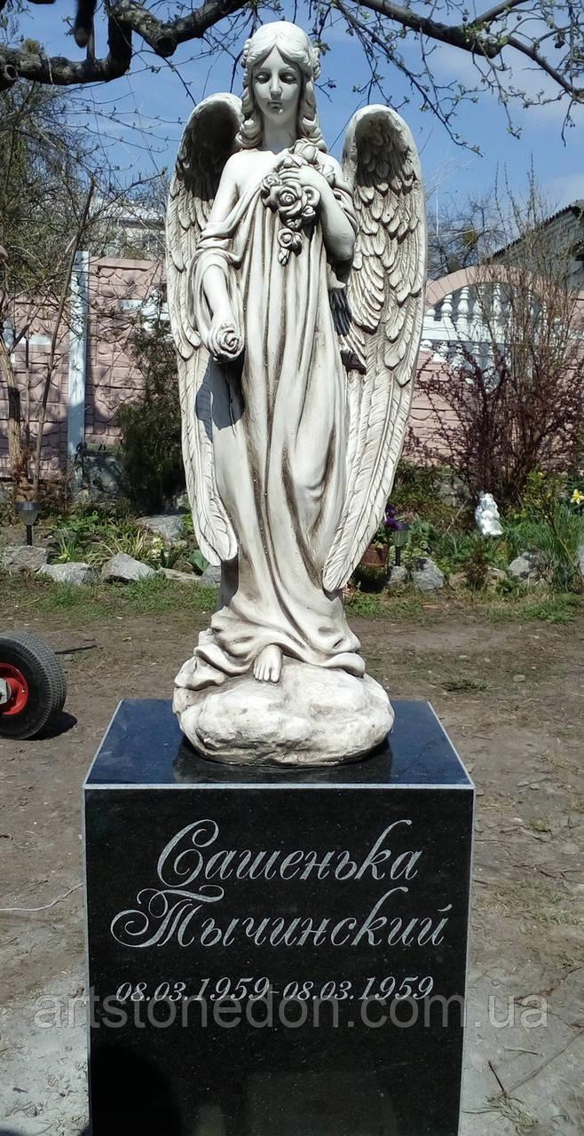 Детские памятники с ангелочками. Памятник детский с Ангелом из стеклофибробетона