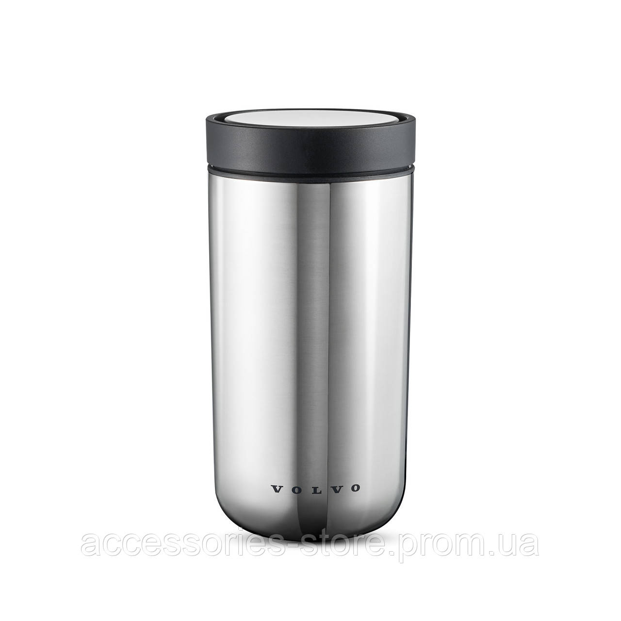 Термокружка Volvo Stelton Thermo Mug To Go Stainless Steel Silver