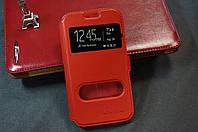 Чехол книжка для Samsung Galaxy J3 J300 J320 J310 (2016) Duos цвет красный