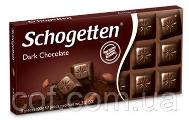 Шоколад черный Schogetten Dark Chocolate (Шогеттен Черный шоколад) 100г (Германия)