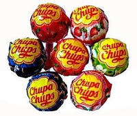 Леденцы на палочке Chupa Chups (100 шт)