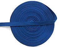 Тесьма сумочная, цвет синий, ширина 2 см (50м в рул. )
