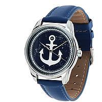 Часы на руку Якорь синий