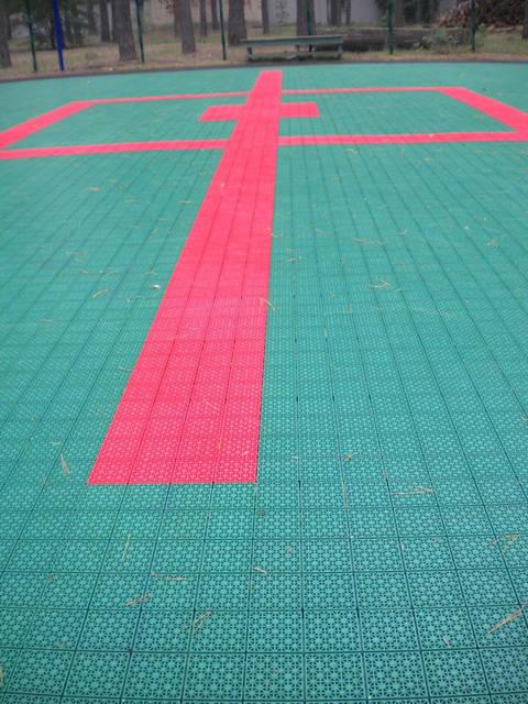 Модульное покрытие для спортивных площадок 11