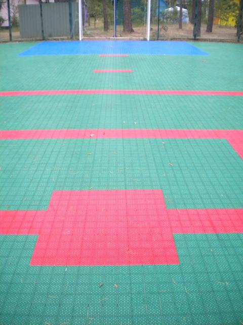 Модульное покрытие для спортивных площадок 12