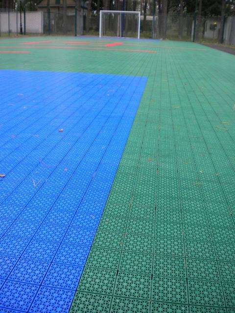Модульное покрытие для спортивных площадок -1