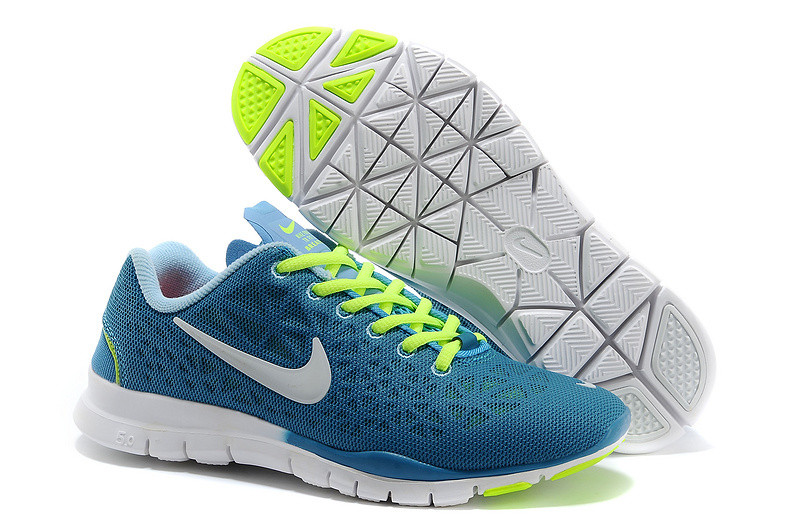 Кроссовки женские Nike Free Run 5.0 Breath Blue Yellow White