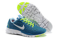 Кроссовки женские Nike Free Run 5.0 Breath Blue Yellow White, фото 1