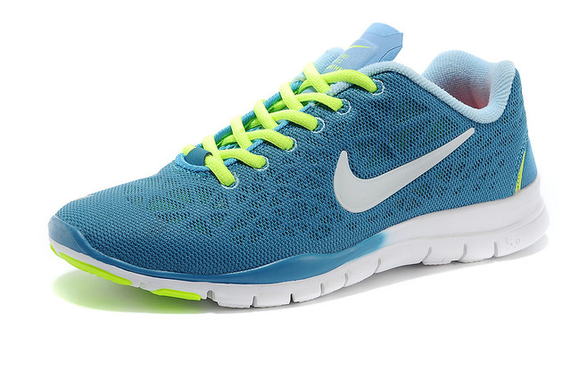 Nike Free Run 5.0 Breath Blue Yellow White