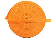 Тесьма сумочная, цвет желтый, ширина 2 см (50м в рул. )