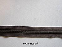 Молния обувная №7 цв. коричневый Турция