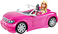 Гламурный кабриолет с куклой Барби Barbie Convertible and Doll Pack DJR55