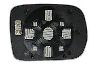 Элемент зеркала ACURA MDX (01-06) левый сферический с обогревом