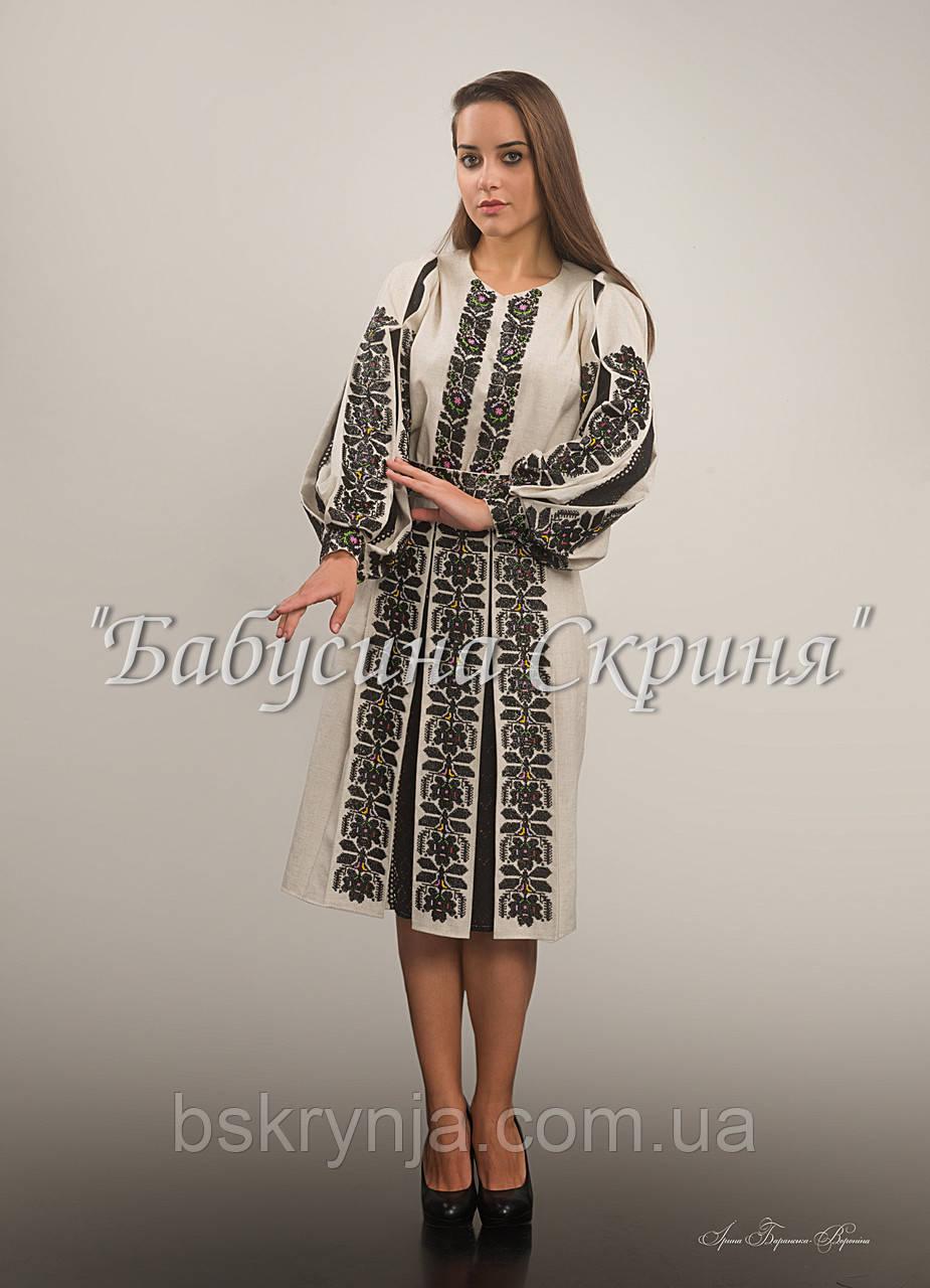 Заготовка Борщівської жіночої сорочки та спідниці для вишивки нитками/бісером БС-95