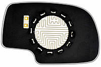 Элемент зеркала CADILLAC Escalade (00-03) левый асферический с обогревом