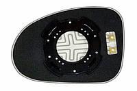 Элемент зеркала CHEVROLET Spark (05-09) правый сферический с обогревом