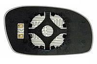 Элемент зеркала DAEWOO Espero (95-99) левый сферический с обогревом