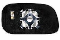 Элемент зеркала DODGE Durango II (04-08) левый сферический с обогревом