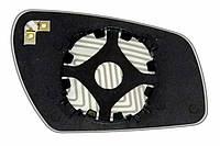 Элемент зеркала FORD Focus C-MAX (03-08) левый асферический с обогревом