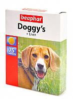 Doggy's + Liver полезные лакомства со вкусом печени для собак Beaphar