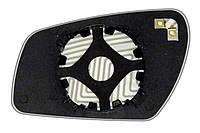 Элемент зеркала FORD Fiesta V (05-08) правый асферический с обогревом