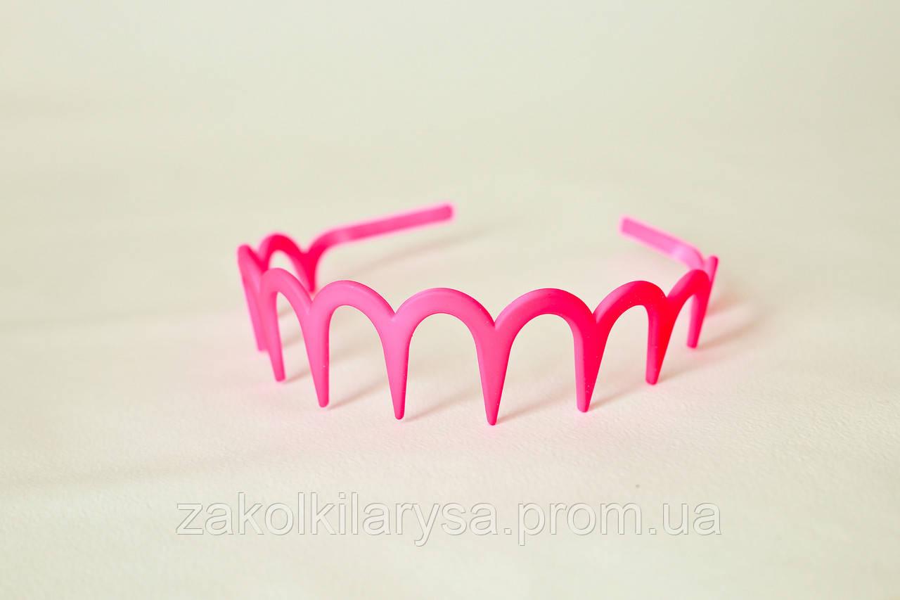 Обруч для волосся каучук хвиля - 12 шт.,ширина - 4 см* Ø 13 см