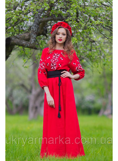 Вишита сукня на випускний. Статті компанії «Українська вишиванка з ... c4c4ab8bf34e8