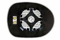 Элемент зеркала HONDA Civic VIII 5D (06-11) левый сферический с обогревом