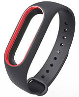 Ремешок Xiaomi для браслета Xiaomi Mi Band 2 Black/Red (289212)