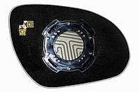 Элемент зеркала HYUNDAI Elantra IV (08-10) левый сферический с обогревом