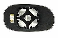 Элемент зеркала HYUNDAI Sonata II (94-96) левый сферический с обогревом