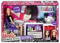 Игровой набор Салон Красоты Барби Barbie Sparkle Style Salon Doll Playset DTK05 Blonde