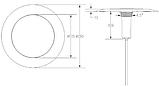 Ультратонкий светодиодный прожектор Aquaviva LED029–546LED (33 Вт) RGB / бетон / лайнер (тип крепления резьба), фото 7