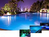Ультратонкий светодиодный прожектор Aquaviva LED029–546LED (33 Вт) RGB / бетон / лайнер (тип крепления резьба), фото 10