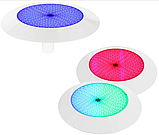 Ультратонкий светодиодный прожектор Aquaviva LED029–546LED (33 Вт) RGB / бетон / лайнер (тип крепления резьба), фото 3