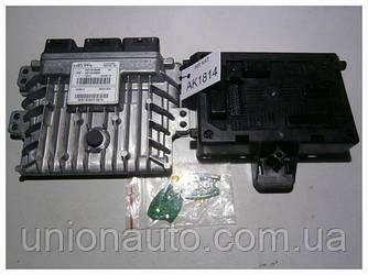 Блок управління двигуном комплект 1.5 DCI re Renault Kangoo 237101989 237101990R 2008-2013