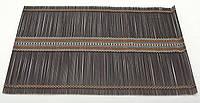 Бамбуковый коврик (салфетка) Bamboo Mat-114, 30х45см, цветной
