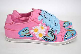 """Кеды """"Бабочка"""" IK-508 (розовый), фото 3"""