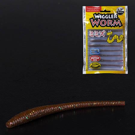 Слаг силікон. WIGGLER WORM LJ Pro Series 2,3 '/ S13 *9