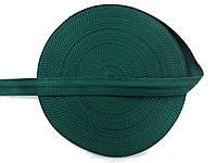 Тесьма сумочная, цвет т-зеленый, ширина 3 см (50м в рул. )