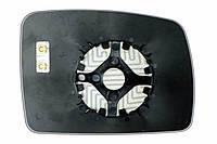 Элемент зеркала LAND ROVER Discovery III (04-09) левый сферический с обогревом