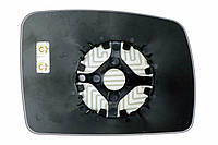 Элемент зеркала LAND ROVER Freelander II (06-10) левый сферический с обогревом
