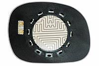 Элемент зеркала LINCOLN Navigator I (97-03) левый сферический с обогревом