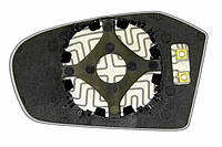 Элемент зеркала MERCEDES A-klasse (04-09) правый асферический с обогревом