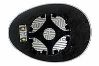 Элемент зеркала MINI Cooper II (06-11) правый асферический с обогревом