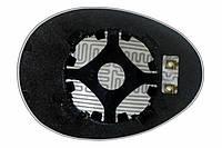 Элемент зеркала MINI Cooper II (06-11) левый асферический с обогревом