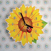 Настенные часы Подсолнух